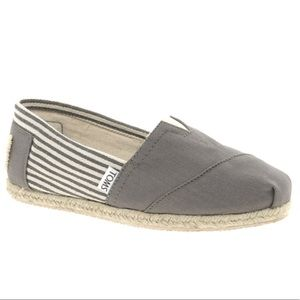 Toms College Ash Gray Shoes